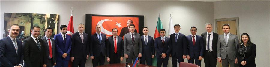 Kazakistan, Azerbaycan, Kuveyt, Katar ve Kosova İrtibat Görevlilerinin katılımı ile İstişare Toplantısı Gerçekleştirildi